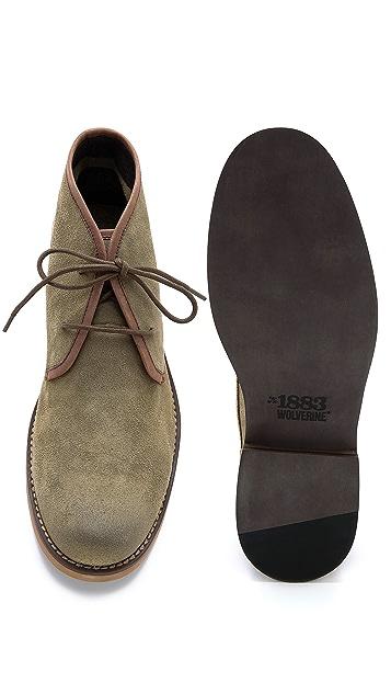 Wolverine 1883 Orville Leather Desert Boots
