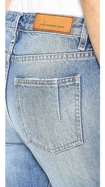 Won Hundred Jessie Rip Knee Jeans
