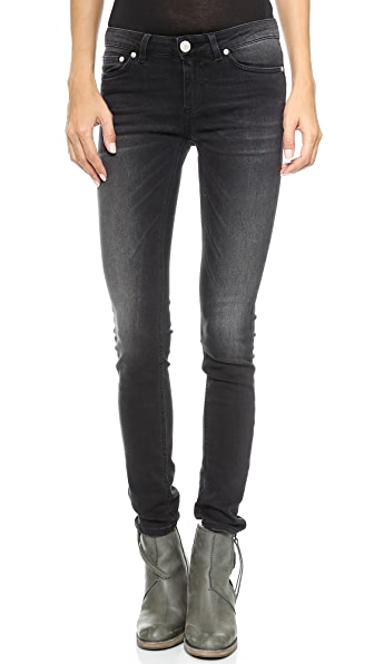 Won Hundred Elle Washed Black Jeans