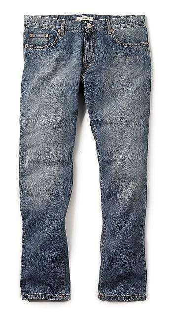 Won Hundred Dean Light Blue Jeans
