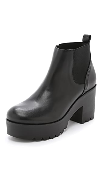Won Hundred Hye Chunky Chelsea Booties