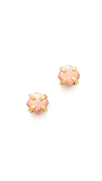 Wouters & Hendrix Copper Dot Stud Earrings