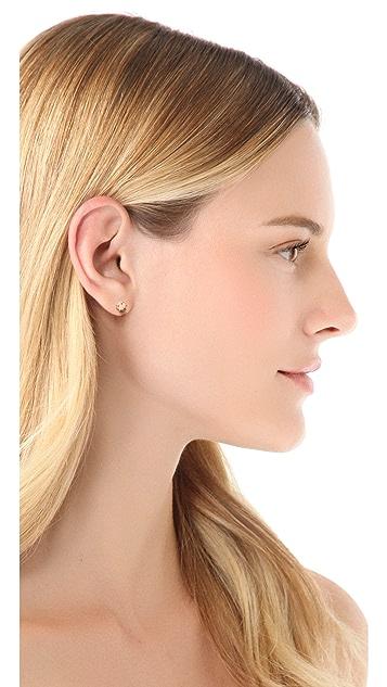 Wouters & Hendrix Copper Dot Stud Earrings