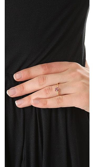 Wouters & Hendrix Rhodolite Dot Ring