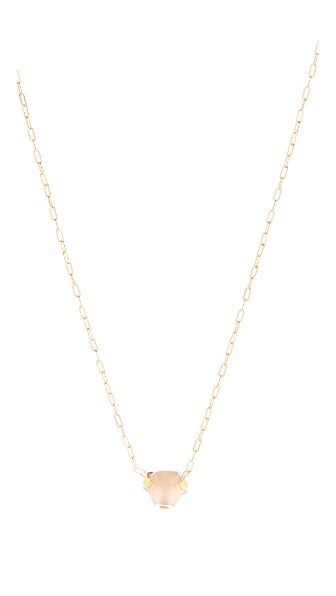 Wouters & Hendrix Agate Dot Pendant Necklace