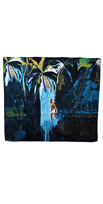 WOW! Peter Doig Double Beach Towel