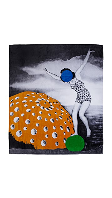 WOW! John Baldessari Double Beach Towel