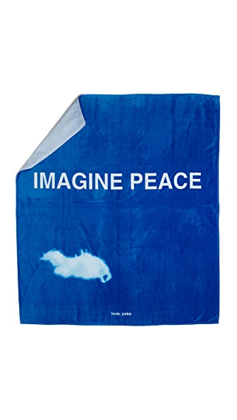 WOW! Yoko Ono Double Beach Towel