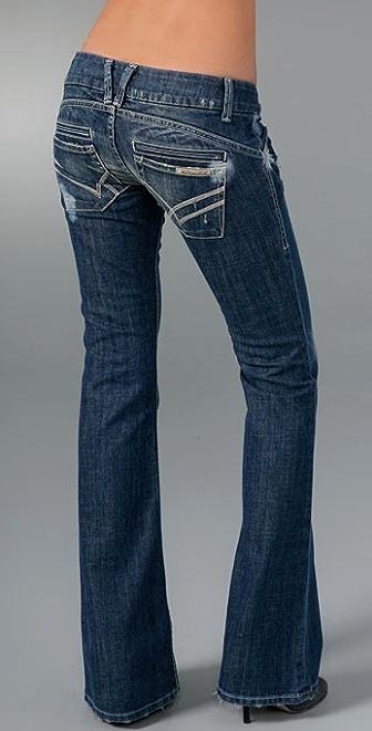 William Rast Savoy Ultra Low Rise Trouser Jean