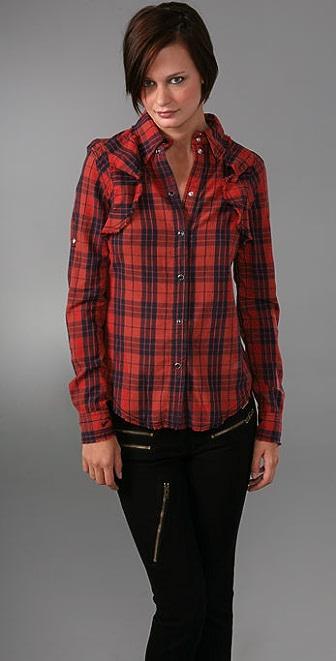 William Rast Plaid Shirt