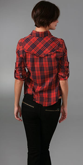 William Rast Plaid Shirt