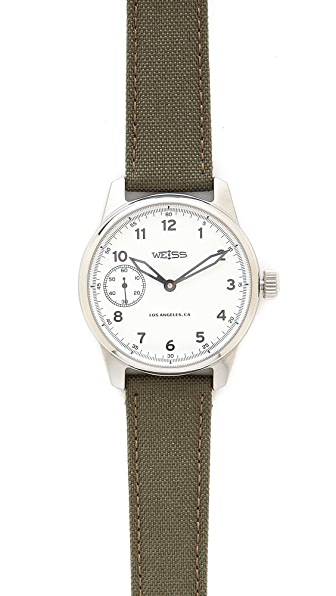 Weiss Watch Co. Standard Issue Field Watch