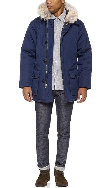 Woolrich Woolen Mills Fur Collar Parka