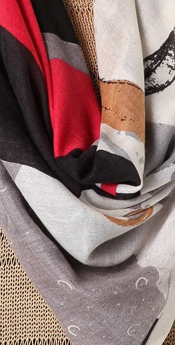 YARNZ Fashion Gothic Scarf
