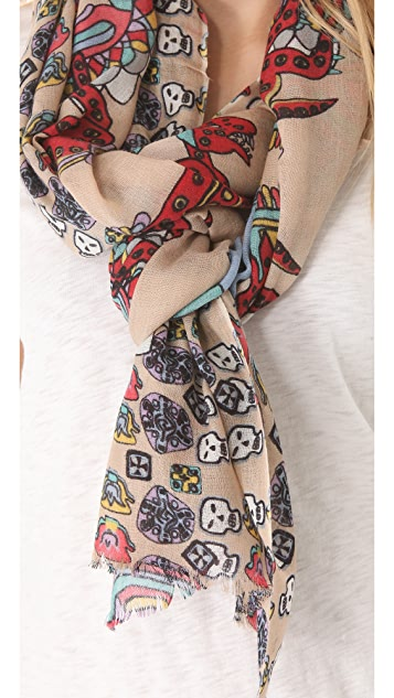 YARNZ Creepy Chic Scarf