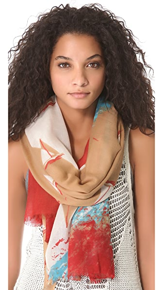 YARNZ Sailboats Scarf
