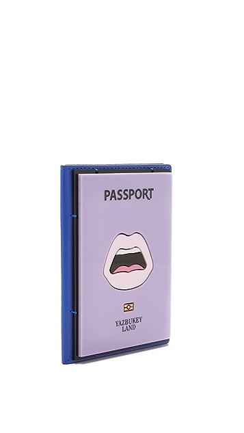 Yazbukey Yazbukeyland Passport Case