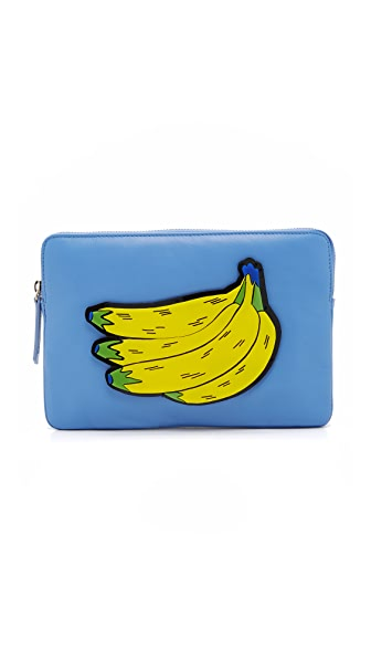 Yazbukey Banana Clutch