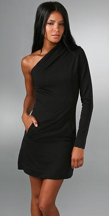 Young Fabulous & Broke One Shoulder Dress