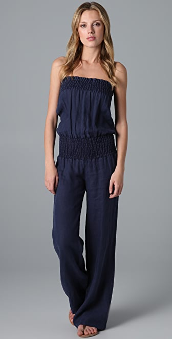 Young Fabulous & Broke Linen Jumpsuit