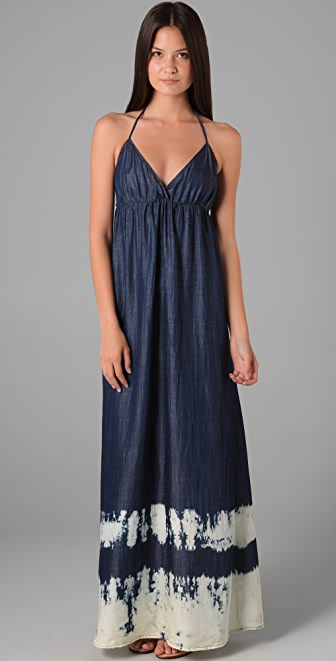 Young Fabulous & Broke Mary Border Maxi Dress