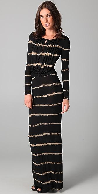 Young Fabulous & Broke Waltz Stripe Rachel Maxi Dress