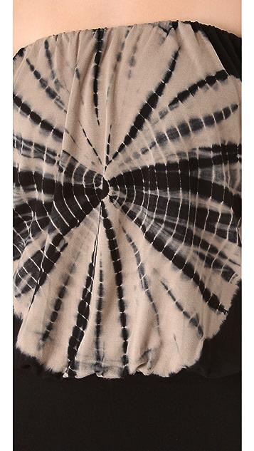 Young Fabulous & Broke Sydney Tie Dye Strapless Dress