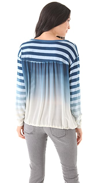 Young Fabulous & Broke Tumbleweed Ombre Sweater