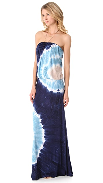Young Fabulous & Broke Sydney Zion Wash Maxi Dress