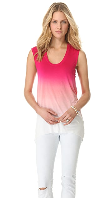 Young Fabulous & Broke James Sunset Ombre Top