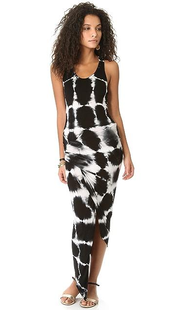 Young Fabulous & Broke Sassy Crosshatch Maxi Dress