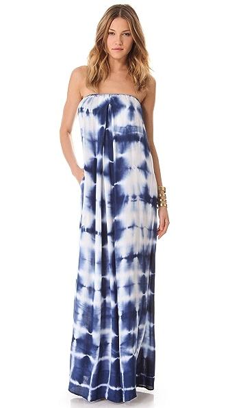 Young Fabulous & Broke Karissa Strapless Maxi Dress