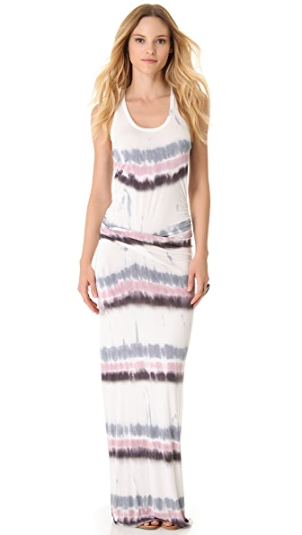 Young Fabulous & Broke Hamptons Drizzle Stripe Maxi Dress