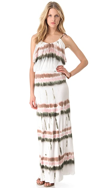 Young Fabulous & Broke Debi Drizzle Stripe Maxi Dress