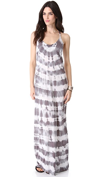 Young Fabulous & Broke Pin Rio Wash Maxi Dress