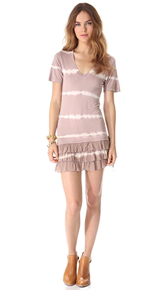 Young Fabulous & Broke Rara Dress Stripe Dress