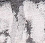 Black Streaky Double Dip Dye