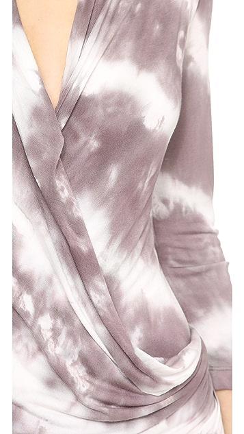 Young Fabulous & Broke Fia Diagonal Wash Dress