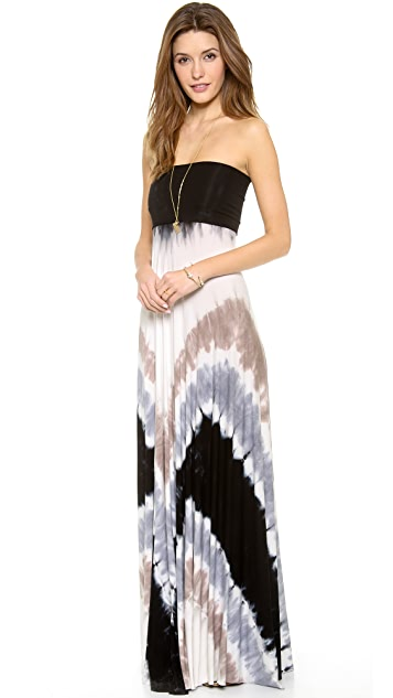 Young Fabulous & Broke Bangal Convertible Maxi Dress
