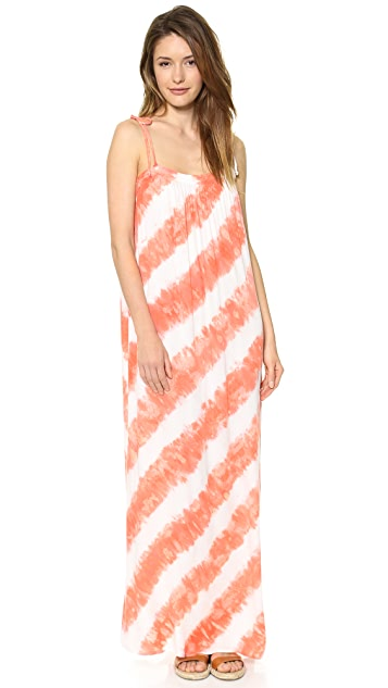 Young Fabulous & Broke Butter Helix Maxi Dress