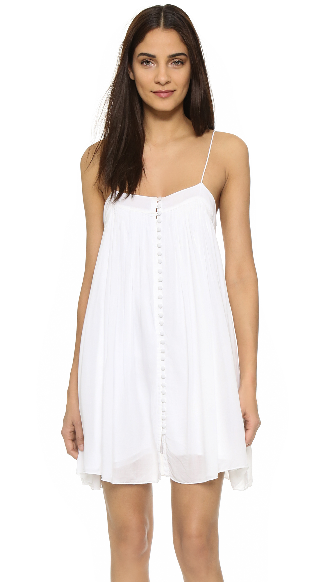 Young Fabulous & Broke YFB Clothing Bevy Dress - True White