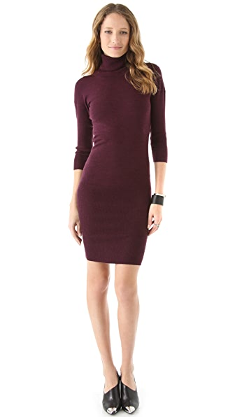Yigal Azrouel Turtleneck Dress