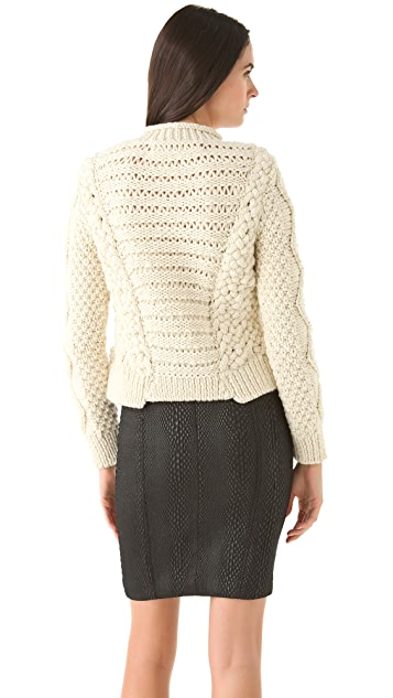 Yigal Azrouel Cable Sweater