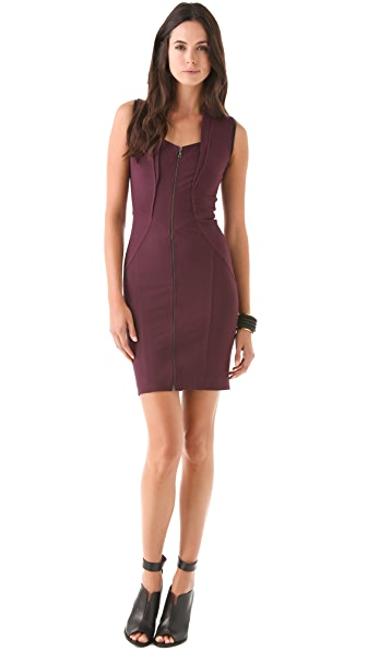 Yigal Azrouel Zip Front Dress