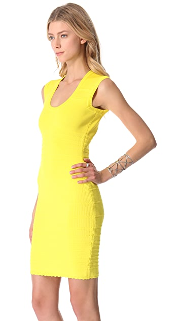 Yigal Azrouel Techno Knit Dress