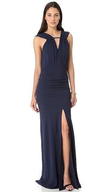 Yigal Azrouel Matte Jersey Gown