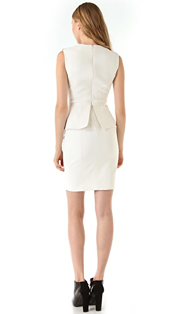 Yigal Azrouel Sleeveless Peplum Dress