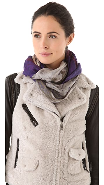 Yigal Azrouel Wolf Scarf