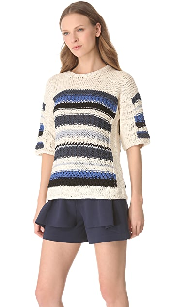 Yigal Azrouel Chunky Knit Top