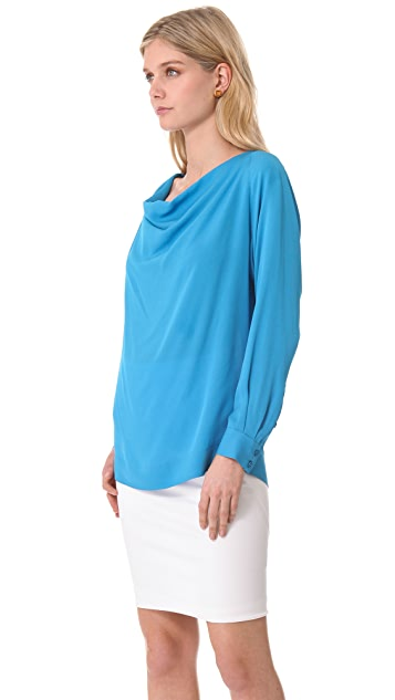 Yigal Azrouel Long Sleeve Blouse